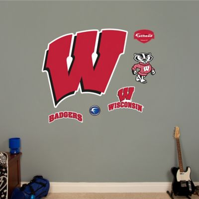 Fathead® University of Wisconsin Logo Wall Graphic