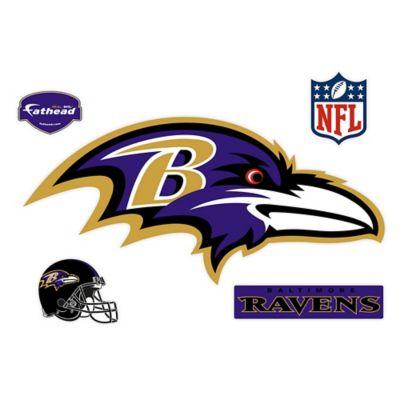 Fathead® NFL Baltimore Ravens Logo Wall Graphic