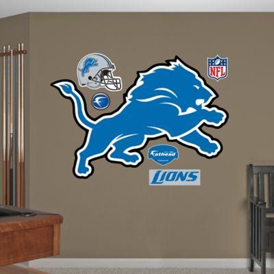 Fathead® NFL Detroit Lions Logo Wall Graphic