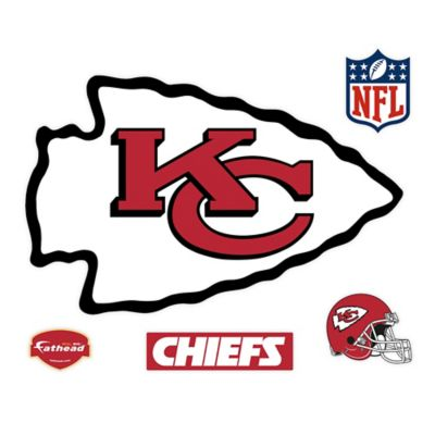 NFL Kansas City Chiefs Logo Wall Graphic