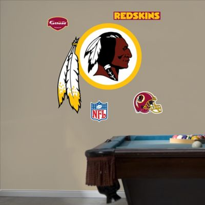 Fathead® NFL Washington Redskins Logo Wall Graphic