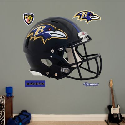 NFL Baltimore Ravens Revolution Helmet Wall Graphic