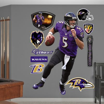 Fathead® NFL Baltimore Ravens Joe Flacco Home Wall Graphic