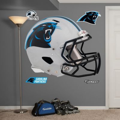Fathead® NFL Carolina Panthers Revolution Helmet Wall Graphic