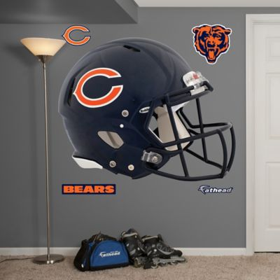 Fathead® NFL Chicago Bears Revolution Helmet Wall Graphic