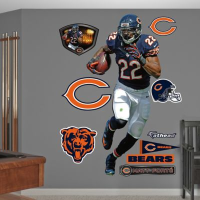 Fathead® NFL Chicago Bears Matt Forte Home Wall Graphic