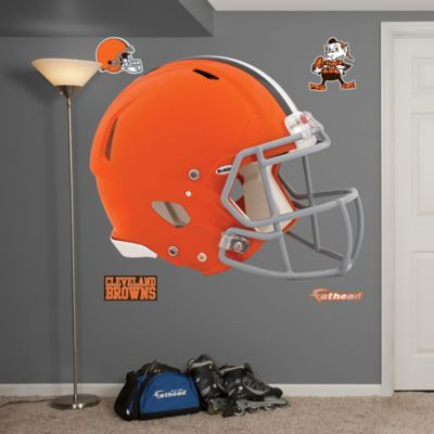 Fathead® NFL Cleveland Browns Revolution Helmet Wall Graphic