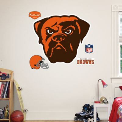 Fathead® NFL Cleveland Browns Logo Wall Graphic