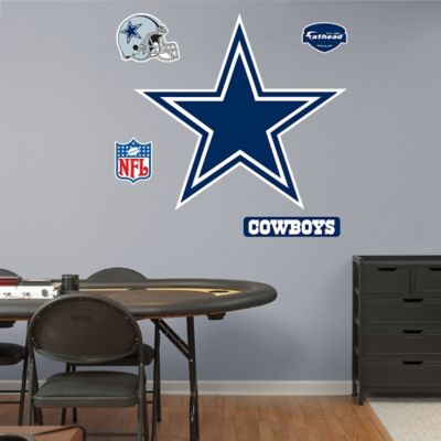 Fathead® NFL Dallas Cowboys Logo Wall Graphic