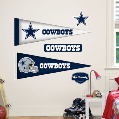 Fathead® NFL Dallas Cowboys Pennant Junior Wall Graphic
