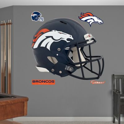 Fathead® NFL Denver Broncos Revolution Helmet Wall Graphic