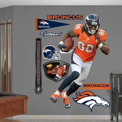 Fathead® NFL Denver Broncos Demaryius Thomas Home Wall Graphic