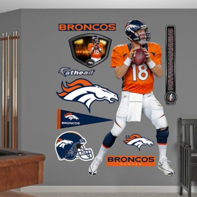 Fathead® NFL Denver Broncos Peyton Manning Home Wall Graphic