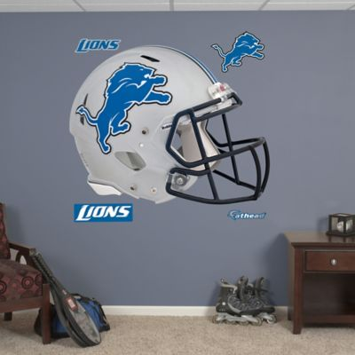 Fathead® NFL Detroit Lions Revolution Helmet Wall Graphic