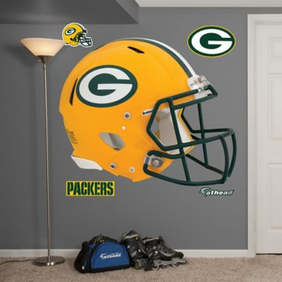 Fathead® NFL Green Bay Packers Revolution Helmet Wall Graphic