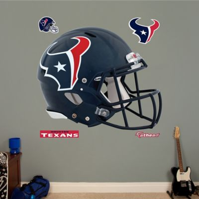 Fathead® NFL Houston Texans Revolution Helmet Wall Graphic