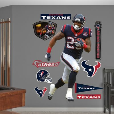 Fathead® NFL Houston Texans Arian Foster Home Wall Graphic