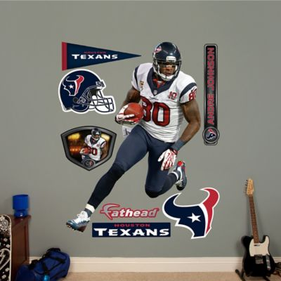Fathead® NFL Houston Texans Andre Johnson Away Wall Graphic