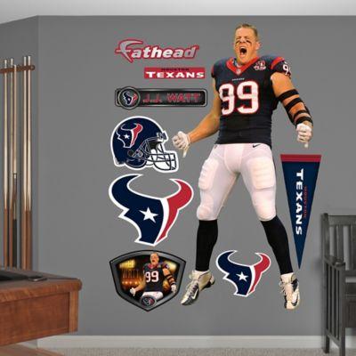 Fathead® NFL Houston Texans JJ Watt Entrance Wall Graphic