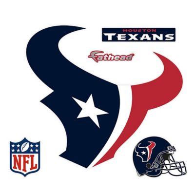 Fathead® NFL Houston Texans Logo Wall Graphic