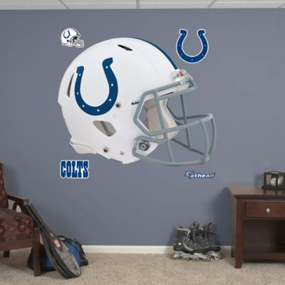Fathead® NFL Indianapolis Colts Revolution Helmet Wall Graphic