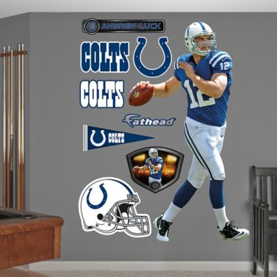Fathead® NFL Indianapolis Colts Andrew Luck Wall Graphic