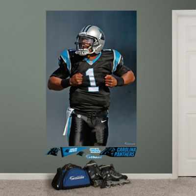Fathead® NFL Carolina Panthers Cam Newton Superman Wall Graphic