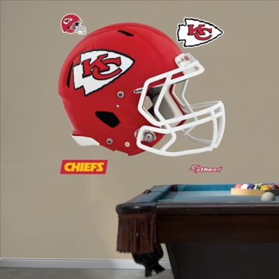 Fathead® NFL Kansas City Chiefs Revolution Helmet Wall Graphic