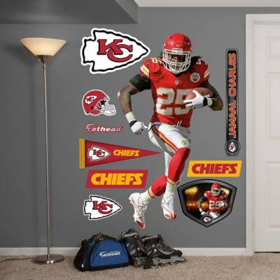 Fathead® NFL Kansas City Chiefs Jamaal Charles Home Wall Graphic