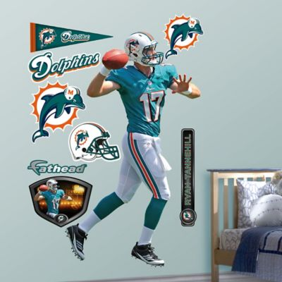 Fathead® NFL Miami Dolphins Ryan Tannehill Wall Graphic