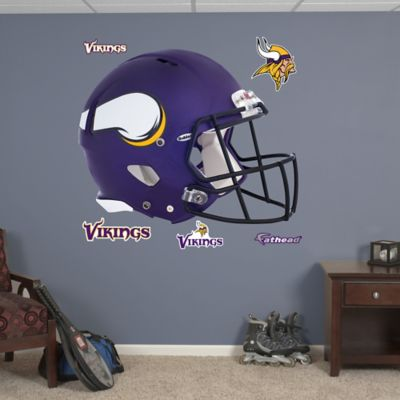 Fathead® NFL Minnesota Vikings Revolution Helmet Wall Graphic