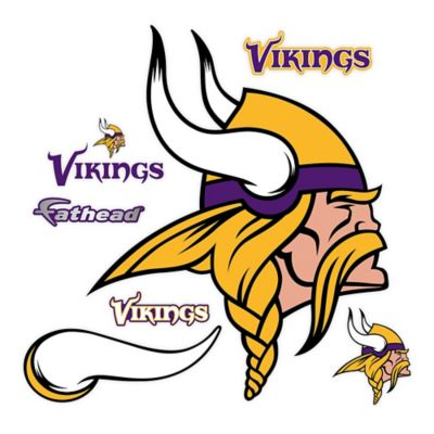 Fathead® NFL Minnesota Vikings Logo Wall Graphic