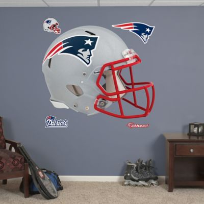 Fathead® NFL New England Patriots Revolution Helmet Wall Graphic