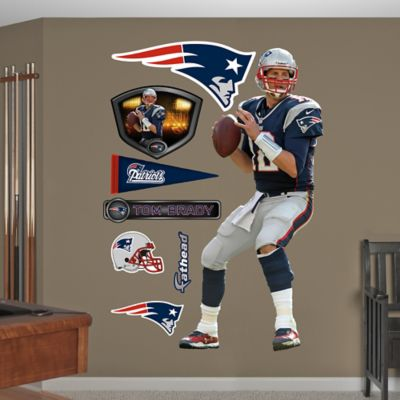 Fathead® NFL New England Patriots Tom Brady Wall Graphic