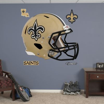 Fathead® NFL New Orleans Saints Revolution Helmet Wall Graphic