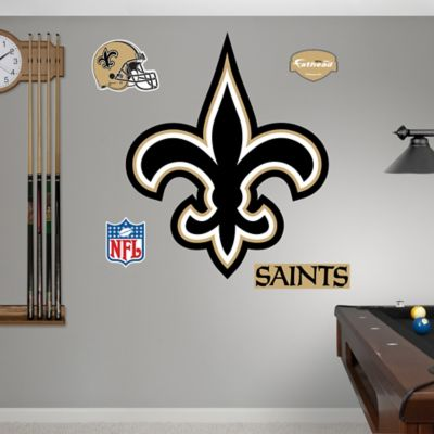 Fathead® New Orleans Saints Logo Wall Graphic