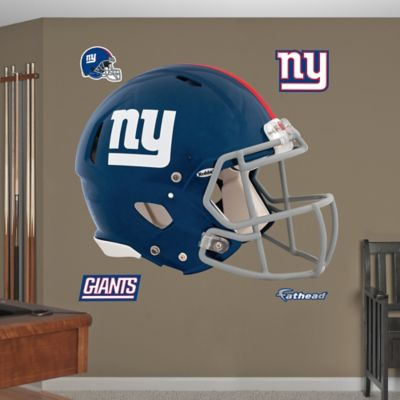 Fathead® NFL New York Giants Revolution Helmet Wall Graphic