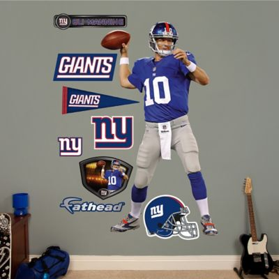 Fathead® NFL New York Giants Eli Manning Home Wall Graphic