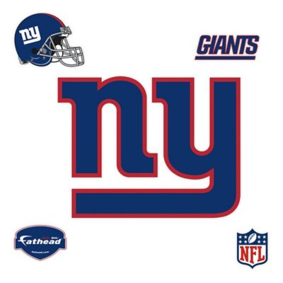 Fathead® NFL New York Giants Logo Wall Graphic