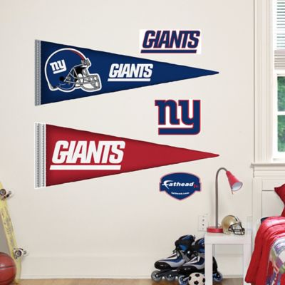 Fathead® NFL New York Giants Pennant Wall Graphic