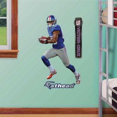 Fathead® NFL New York Giants Victor Cruz Home Junior Wall Graphic