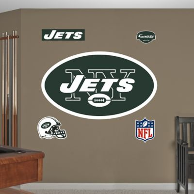 Fathead® NFL New York Jets Logo Wall Graphic