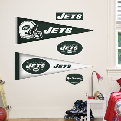 Fathead® NFL New York Jets Pennant Wall Graphic
