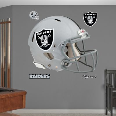 Fathead® NFL Oakland Raiders Revolution Helmet Wall Graphic