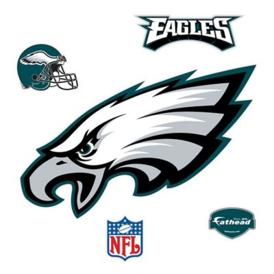 Fathead® NFL Philadelphia Eagles Logo Wall Graphic