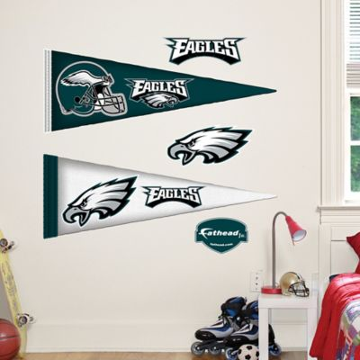 Fathead® NFL Philadelphia Eagles Pennant Junior Wall Graphic