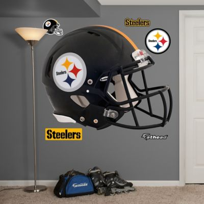 Fathead® NFL Pittsburgh Steelers Revolution Helmet Wall Graphic