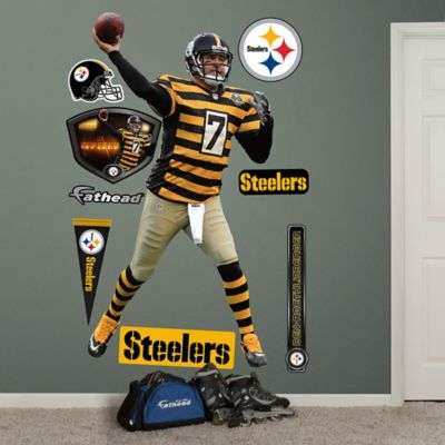 Fathead® NFL Pittsburgh Steelers Ben Roethlisberger Throwback Wall Graphic