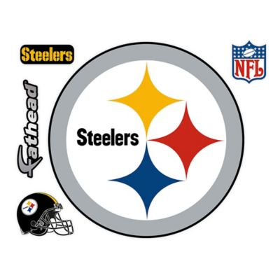 Fathead® NFL Pittsburgh Steelers Logo Wall Graphic