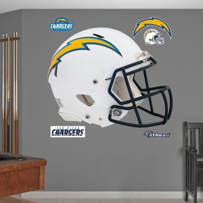Fathead® NFL San Diego Chargers Revolution Helmet Wall Graphic